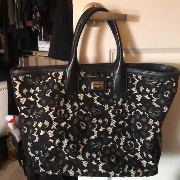Dolce   Gabbana Handbags - Lace Dolce and Gabbana Bag 66da9cd0e4650
